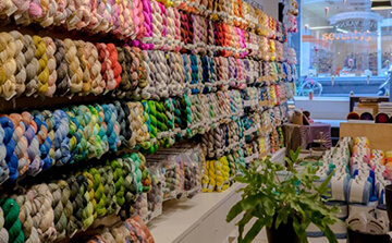 Choose the right knitting yarn